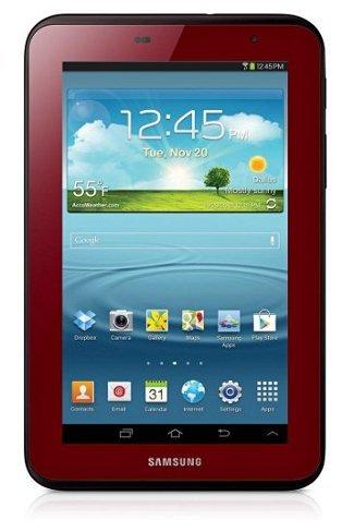 Samsung Galaxy tab 2.7 Merah