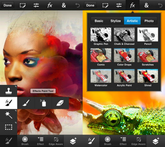 Photoshop Touch for android and iOS