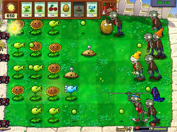 Plants-vs-Zombies for blackberry
