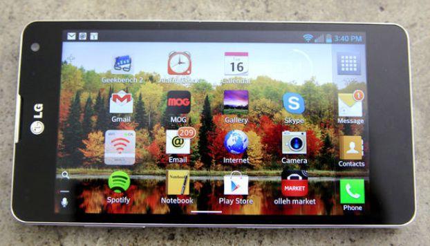 Harga dan Spesifikasi Smartphone LG Optimus G