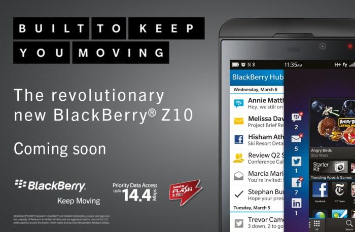 Blackberry Z10 Telkomsel