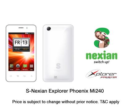 Nexian Mi240 Xplorer Phoenix