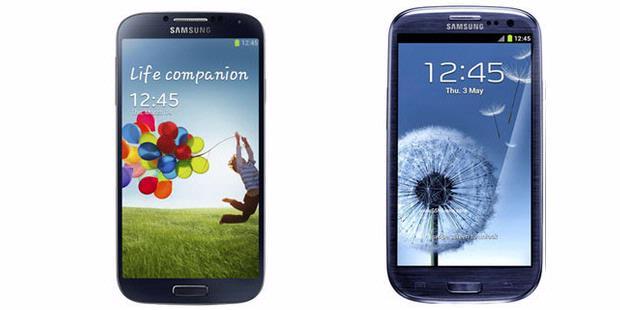 Perbedaan Galaxy S4 dan Galaxy S III