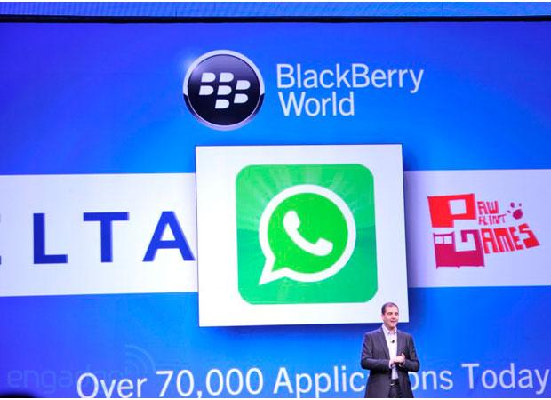 WhatsApp untuk BlackBerry 10