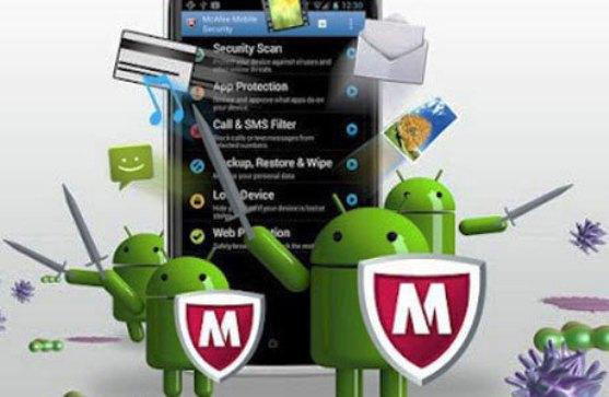 AntiVirus McAfee Proteksi Bagian Dalam Android