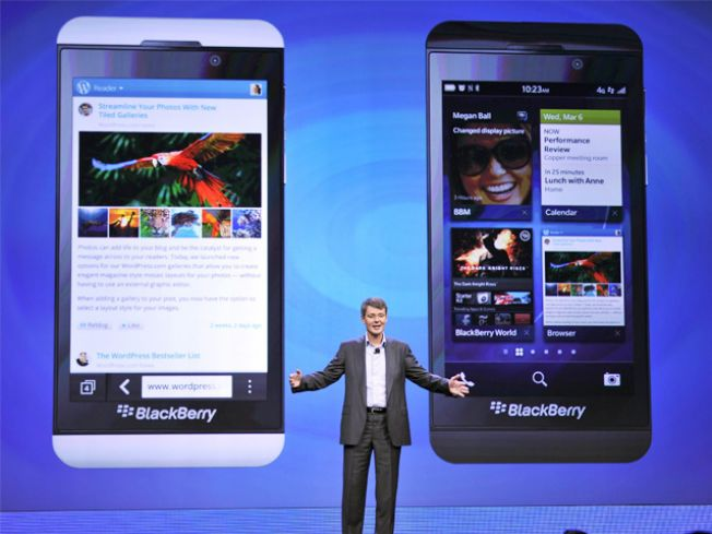 BlackBerry B10, R10, dan U10