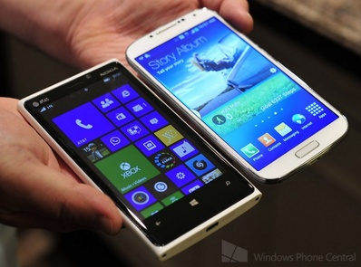 galaxy s iv vs nokia lumia 920