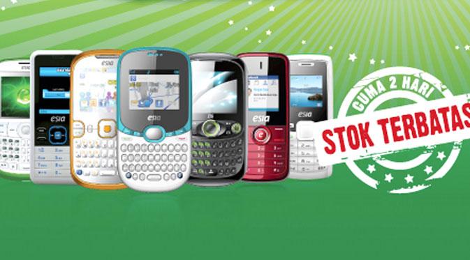 Promo Harga Ponsel Esia Rp 99 Ribu