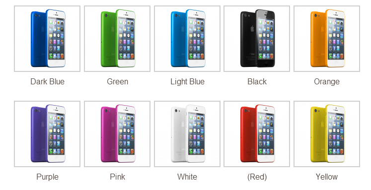 10 Warna iPhone versi murah