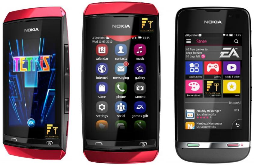 Nokia Unveils 3 Full Touch Low Cost Asha Phones  Nokia Asha 305, Nokia Asha 306 and Nokia Asha 311