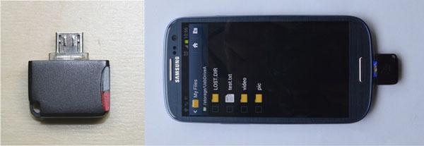Mini Card Reader MicroSD Khusus Tablet dan ponsel Android