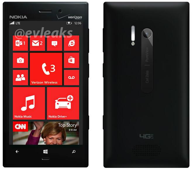 Nokia Lumia 928 Hitam
