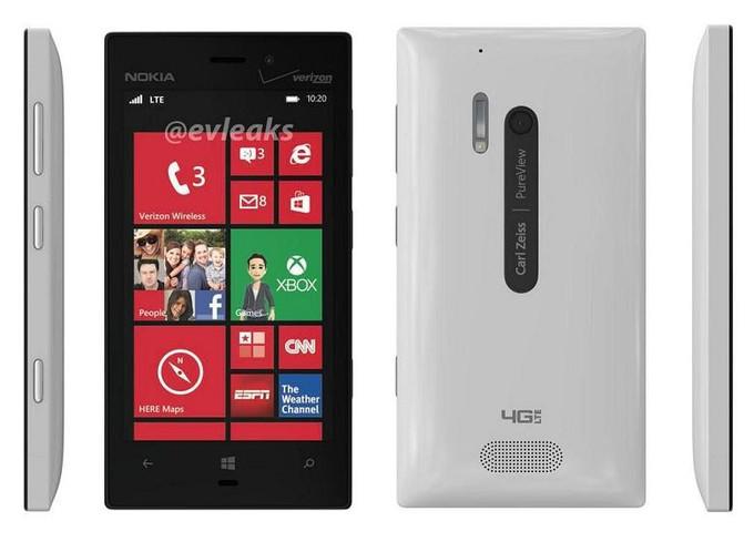 Nokia Lumia 928 Warna Putih