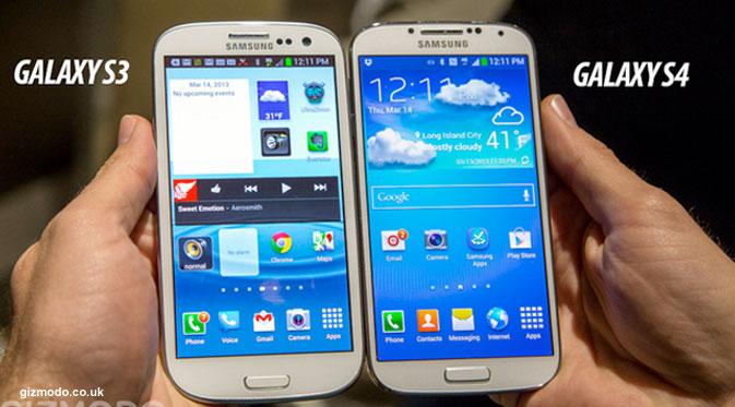 Perbedaan Samsung Galaxy S4 dan Galaxy S III
