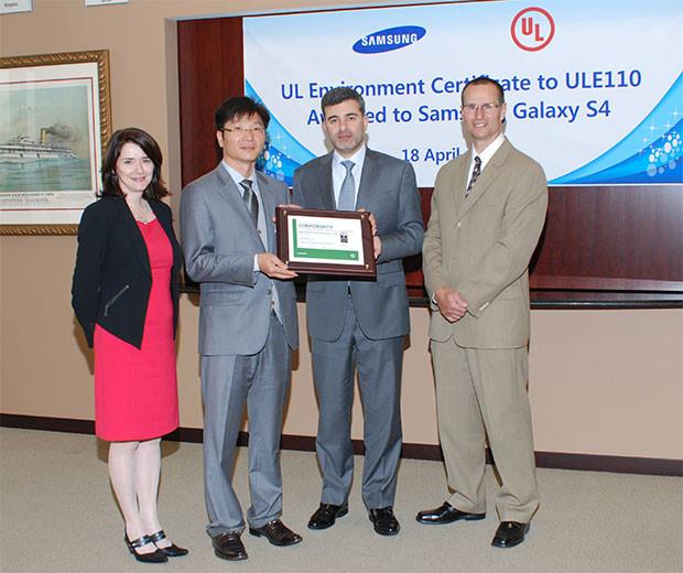 Samsung Galaxy S4 Platinum Certification