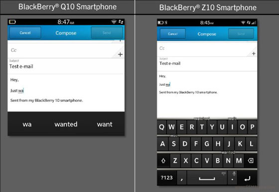 Update BlackBerry OS 10.1
