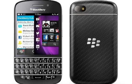 BlackBerry Q10 Sudah Bisa Dipesan di Inggris