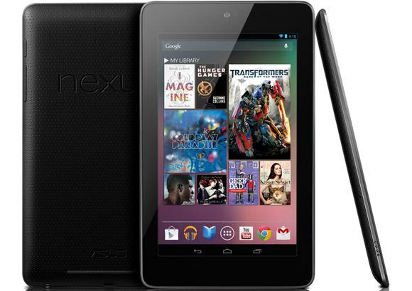 Penerus Tablet Nexus 7 Rilis Juli 2013