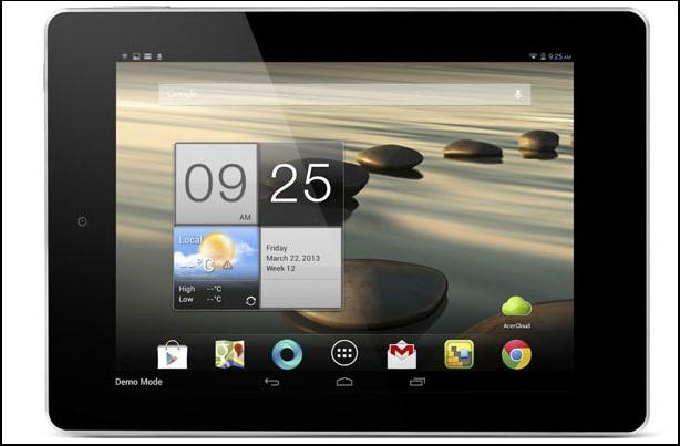 Acer Iconia A1 Preview