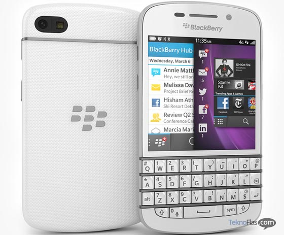 BlackBerry Q10 Putih