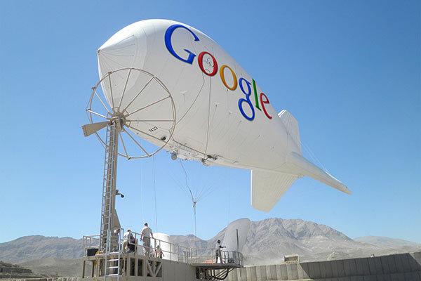 Google Pancarkan Internet dari Balon Udara