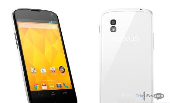 LG Nexus 4 putih