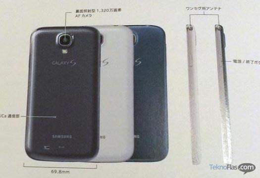 Samsung Galaxy S4 Warna Biru