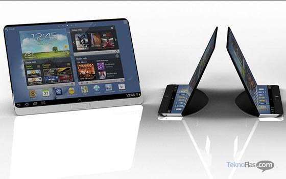 Samsung Tablet Fleksibel