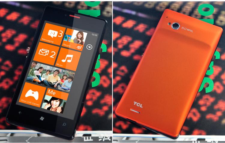 TCL S606 Windows Phone
