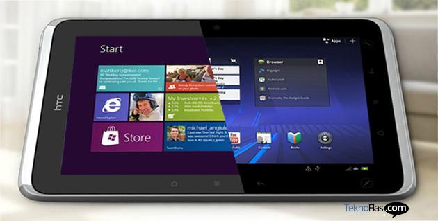 Tablet HTC Windows RT Blue