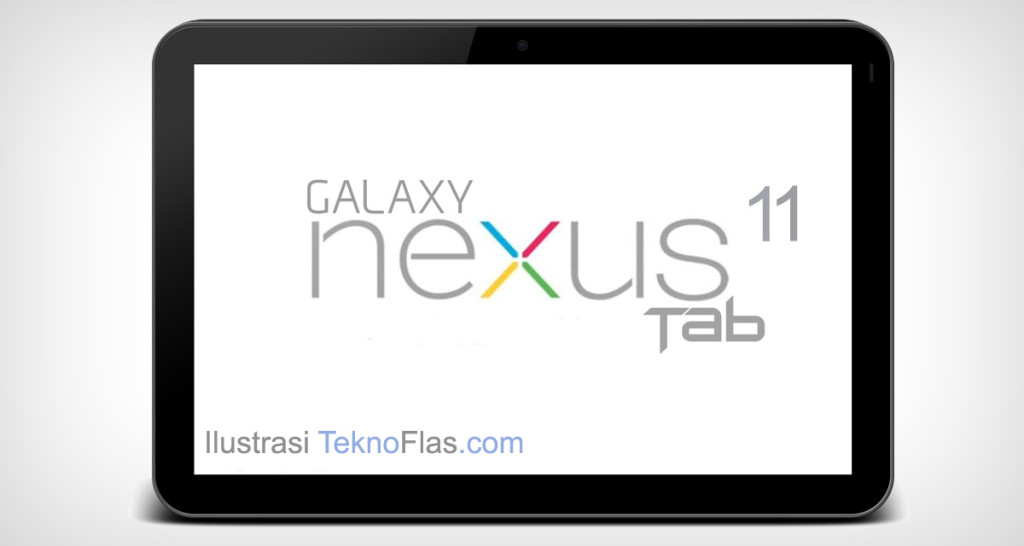 Tablet Nexus 11 Ilustrasi