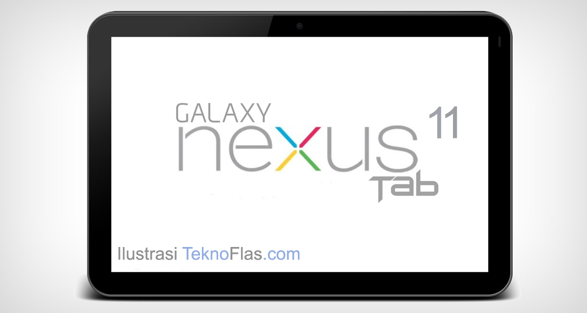 Tablet Nexus 11 Ilustrasi