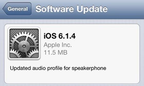 Update iOS 614