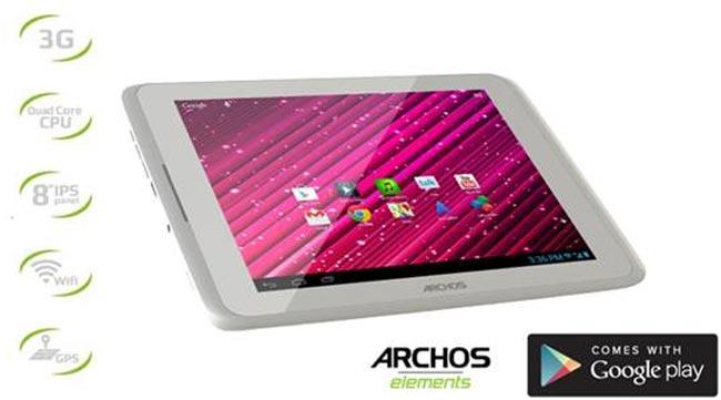 Archos 80 Xenon 3G Resmi Dirilis