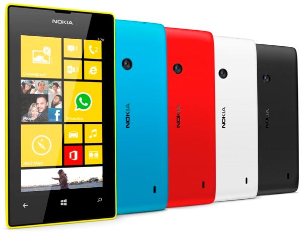 Harga Nokia Lumia 520 di Bawah Rp 1,5 Juta
