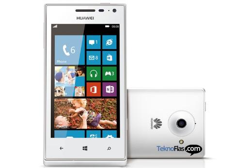 Huawei W1, Windows Phone pertama Huawei