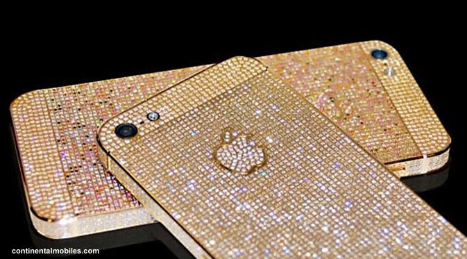 iPhone 5 Bertabur Berlian Seharga Rp 545 Juta
