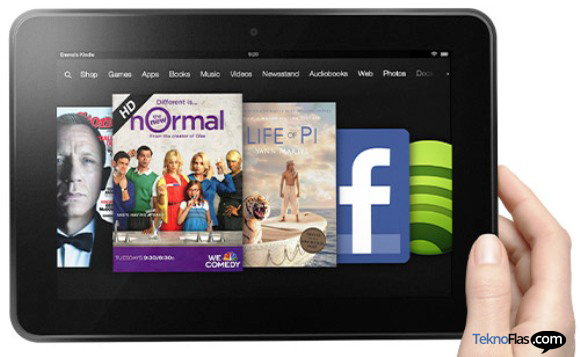 Kindle Fire HD dan Kindle Fire 8,9 Hadir di 170 Negara