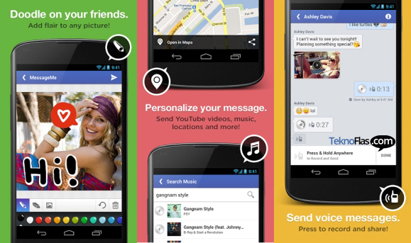 MessageMe, Aplikasi Chat untuk iOS dan Android