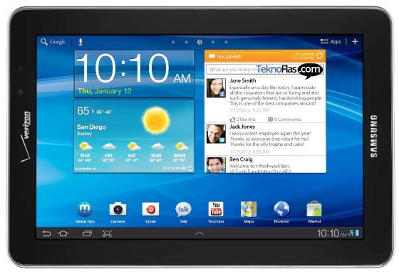Update ke Jelly Bean untuk Samsung Galaxy Tab 7.7 di Indonesia?