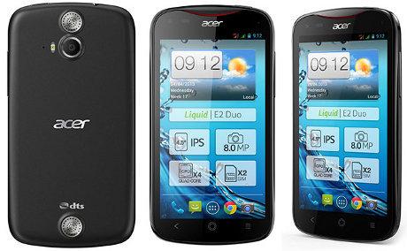 Acer Liquid E2 Android Quadcore Layar 4.5 inch
