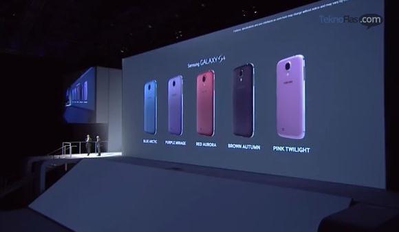 Inilah 5 Warna Baru Samsung Galaxy S4
