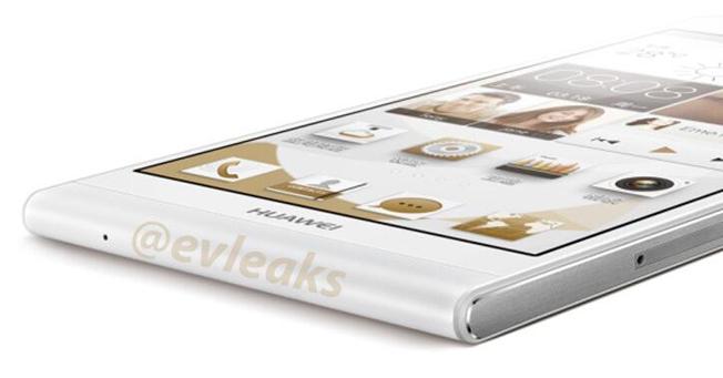 Inilah Bocoran Foto Huawei Ascend P6