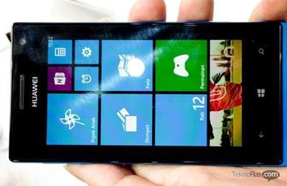Inilah Huawei Ascend W1, SmartFren Windows Phone Harga 2 Juta