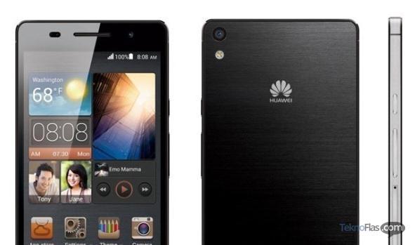 Inilah Spesifikasi Huawei Ascend P6