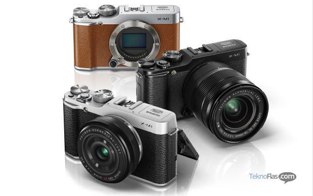 Kamera Fujifilm X-M1, Mirrorless ILC Murah Dengan Fitur Wi-Fi