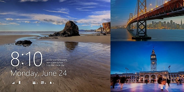 Lock Screen Windows 8.1