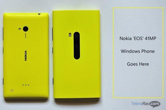 Nokia Lumia EOS akan segera hadir
