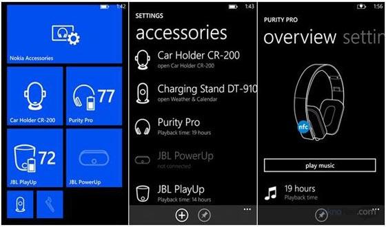 Nokia Seri Lumia Mendapatkan Update Accessories App