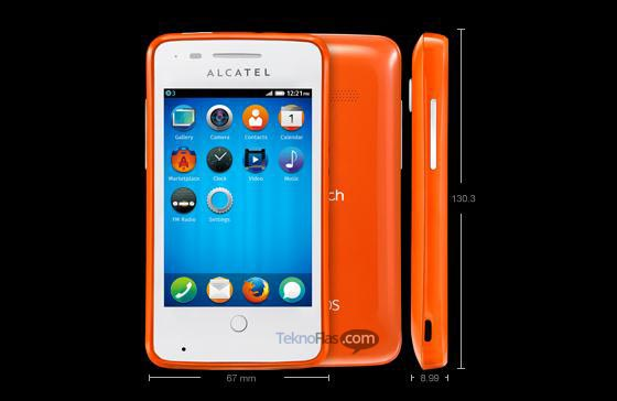 One Touch Fire, Ponsel Firefox OS dari Alcatel